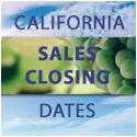 Californina Sales Closing