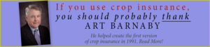Art Barnaby Created the First Version of Crop Insurance