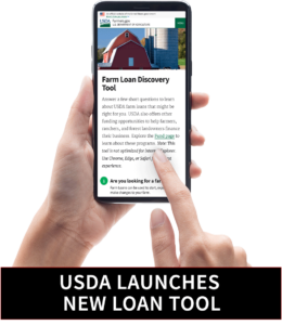 USDA Launches Online Loan Tool